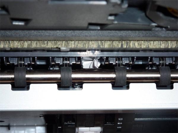 گیر کردن کاغذ در دستگاه کپی زیراکس