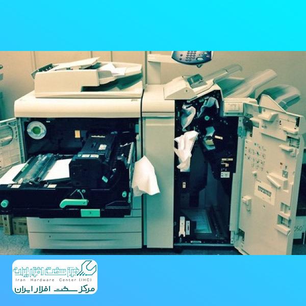 مچاله شدن کاغذ در دستگاه کپی زیراکس