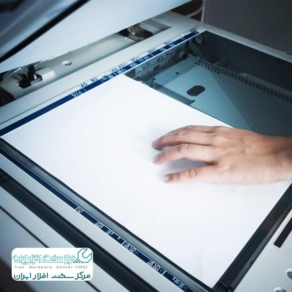 تغییر سایز کاغذ در دستگاه کپی